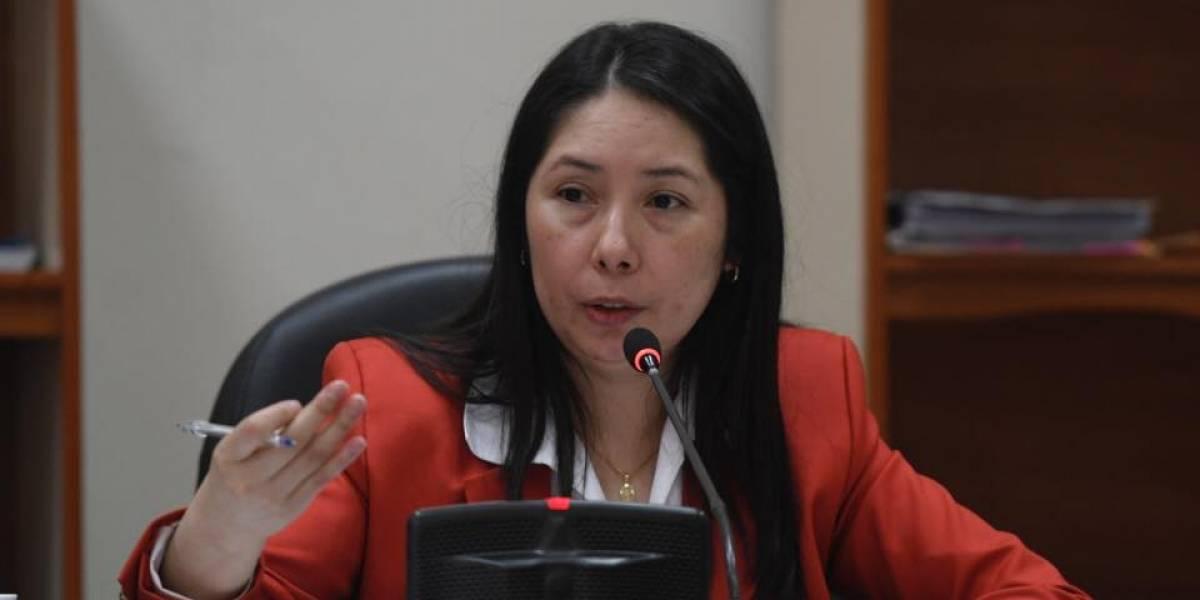 CC pide a Sala informe por sanción en contra de la jueza Érika Aifán