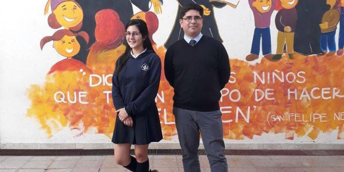 Con sobres de Meiggs: la esforzada campaña para reunir $5 millones para que alumna represente a Chile ante autoridades de la ONU