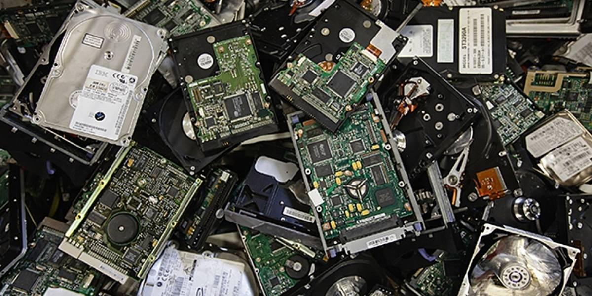 Poder judicial entregó 12 toneladas de residuos electrónicos para ser reciclados