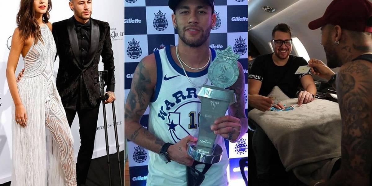 Marquezine, pôquer e parças! Veja como foram os dois meses de Neymar no Brasil