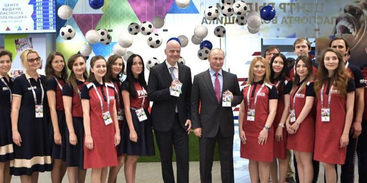 En medio del temor, FIFA da visto bueno al Mundial de Rusia