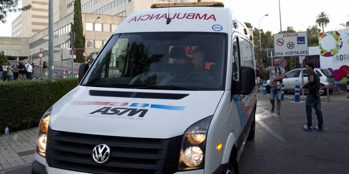 Detienen a paramédicos en España por perder a un herido; iban drogados