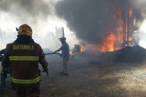 Incendio predio Santa Catarina Pinula