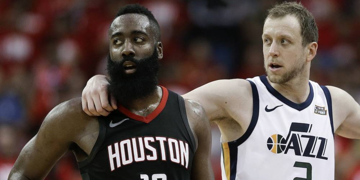 Jazz de Utah le empata la serie a Rockets de Houston