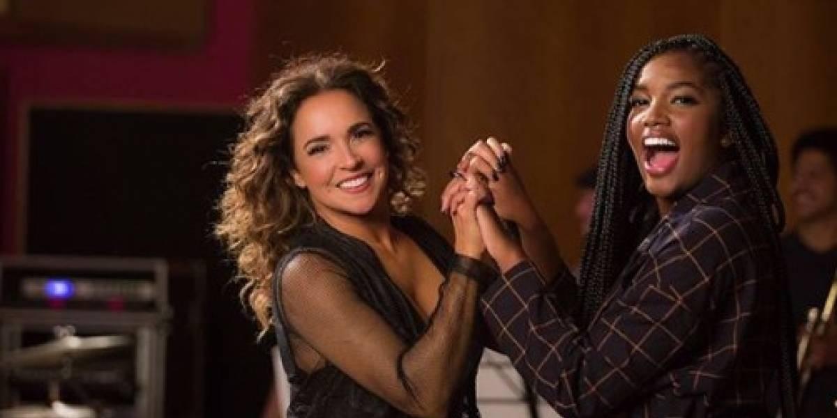 Cenário musical: Iza e Daniela Mercury fazem parceria