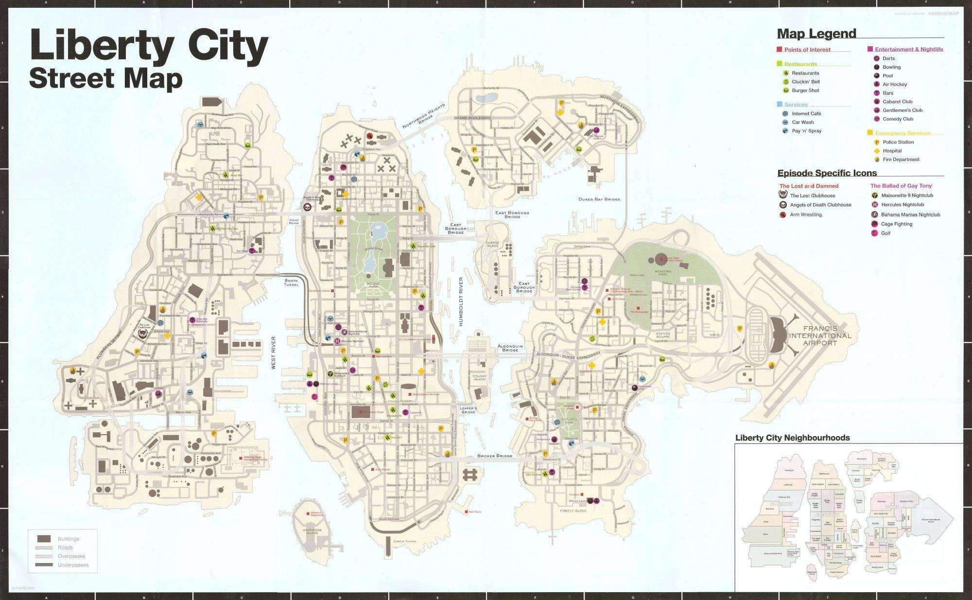 LC Map GTA4
