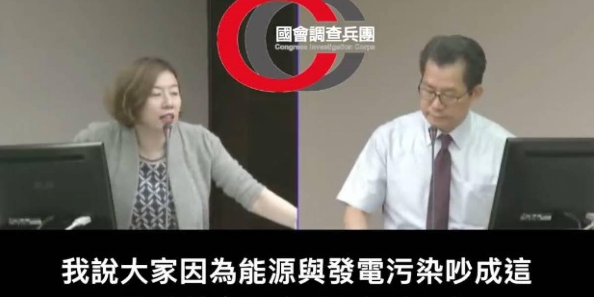 """Legisladora taiwanesa propone cortar la luz en la noche para """"solucionar"""" problema energético"""