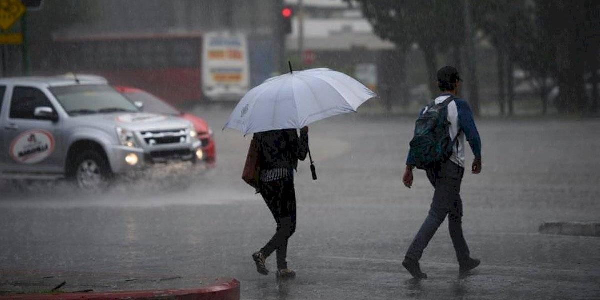 Sistemas de baja presión generarán lluvias desde el domingo