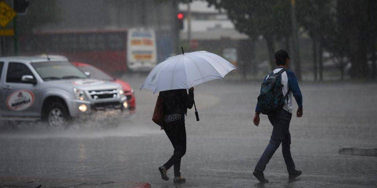 Insivumeh prevé lluvias y tormentas eléctricas para los próximos días