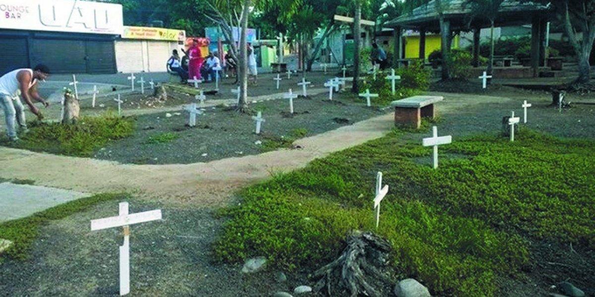 Residentes de Los Alcarrizos siguen sin un cementerio