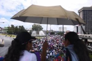 manifestación de maestros