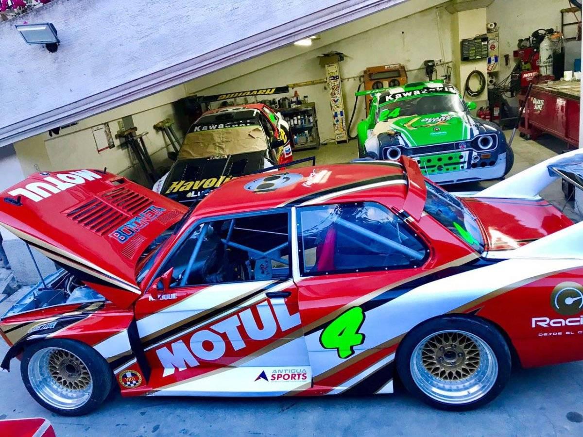 El vehículo de Mauricio Roque tuvo algunas modificaciones.