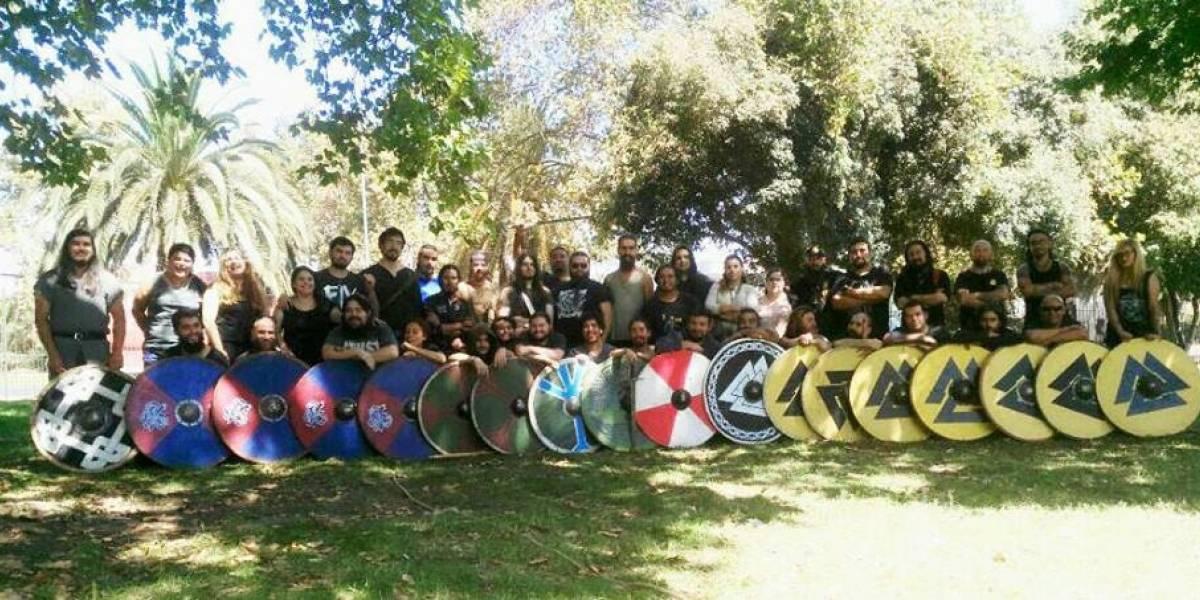 Chile se prepara para torneo de combates medievales vikingos