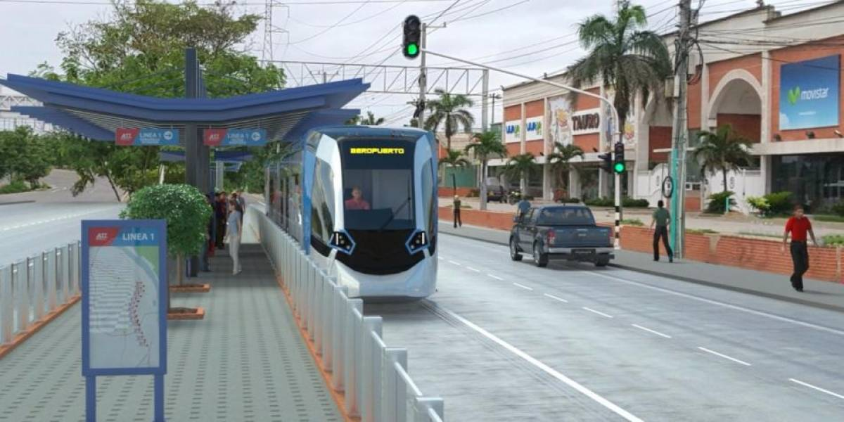 Metro Ligero de Barranquilla podrá ingresar al Aeropuerto Ernesto Cortissoz