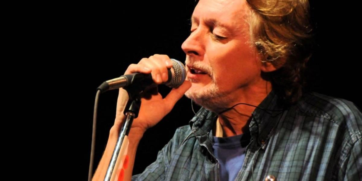 Nito Mestre, vocalista de Sui Generis, en el Teatro Bolívar en Quito