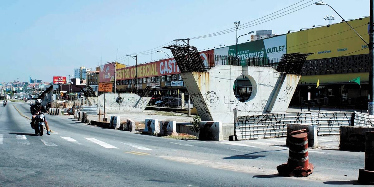 São Bernardo retoma obras no viaduto Rotary