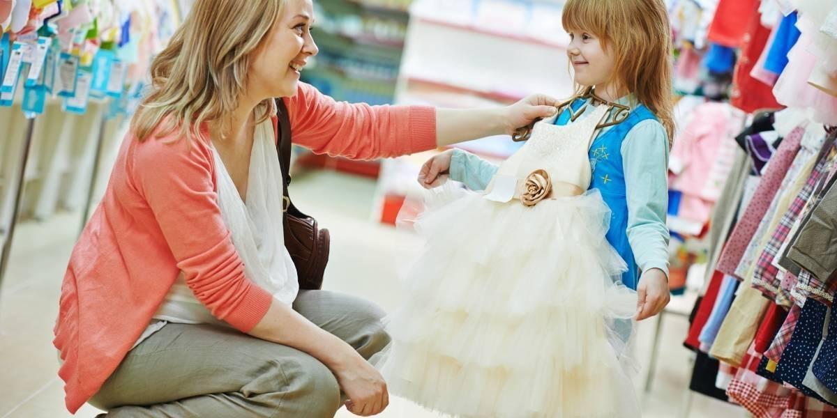 Los más pequeños también siguen las tendencias de la moda