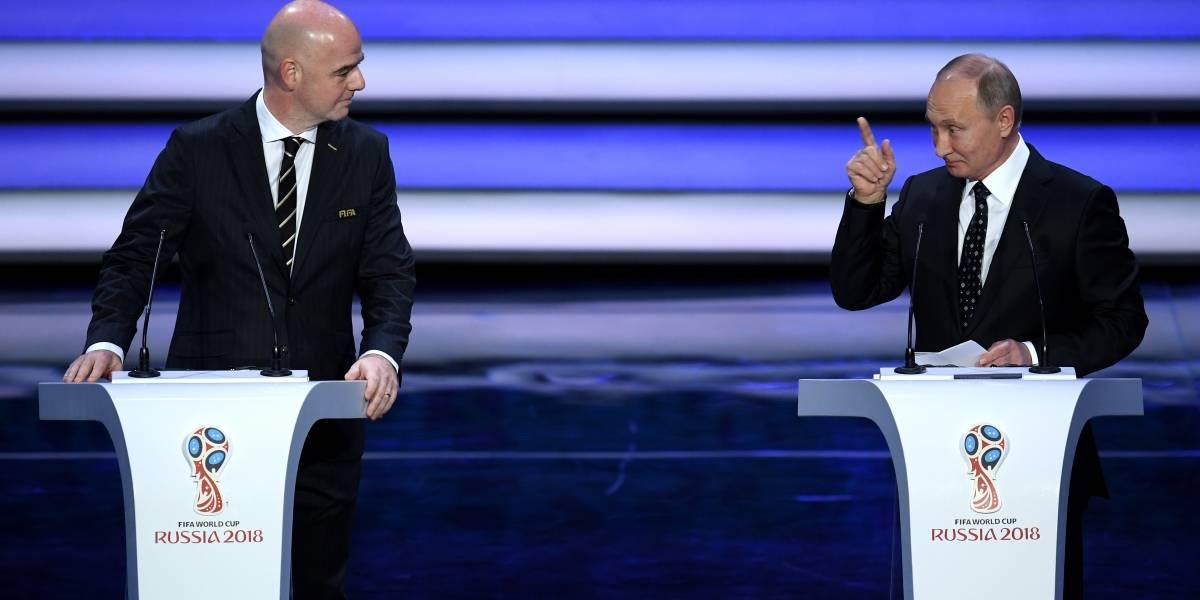 Putin le dice a Infantino que todo está listo para el Mundial