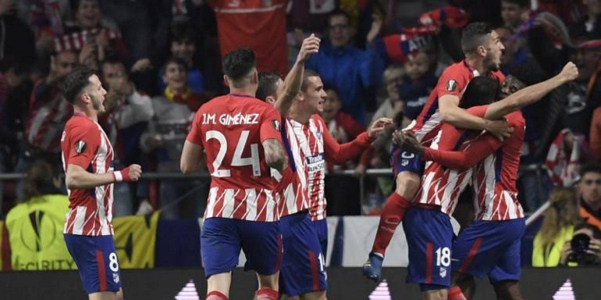 Diego Costa mete al Atlético de Madrid a la final de Lyon