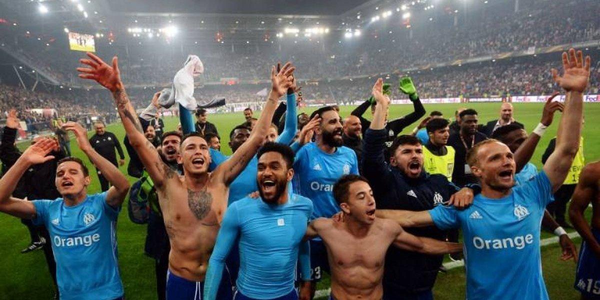 Con mucho sufrimiento, el Marsella clasifica a la final y enfrentará al Atlético