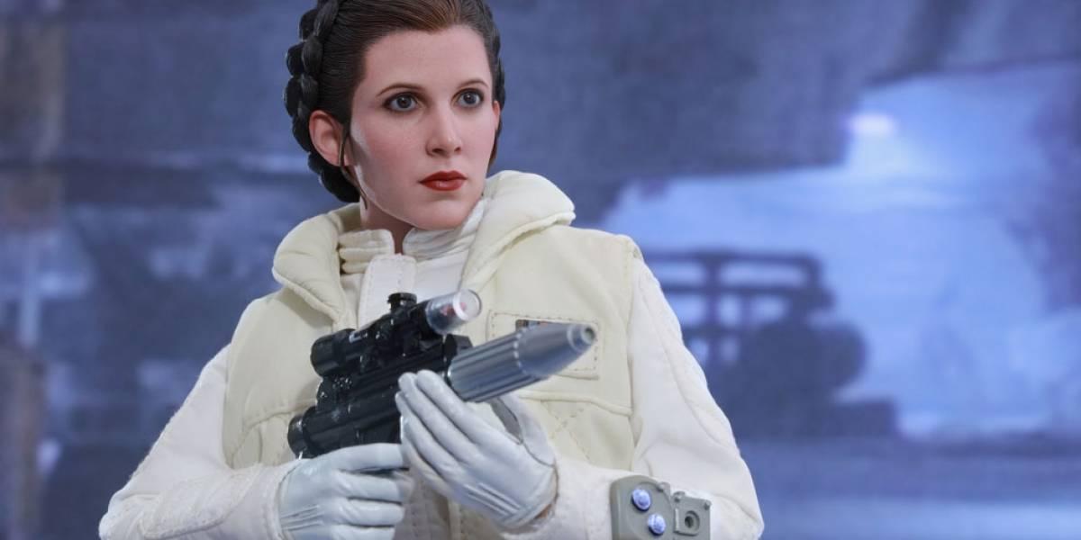 Así luce la nueva figura a escala hiperrealista de la Princesa Leia