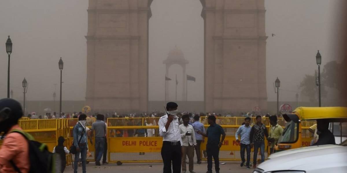 FOTOS. Tormenta de arena y lluvia deja más de 100 muertos en la India