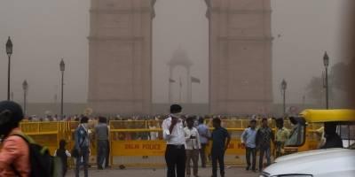 Tormenta de arena en India