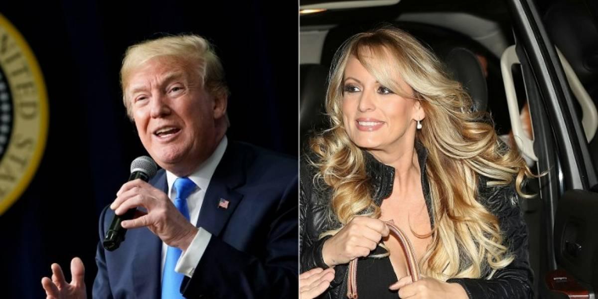 Trump confirma que reembolsó a su abogado el pago que hizo a Stormy Daniels