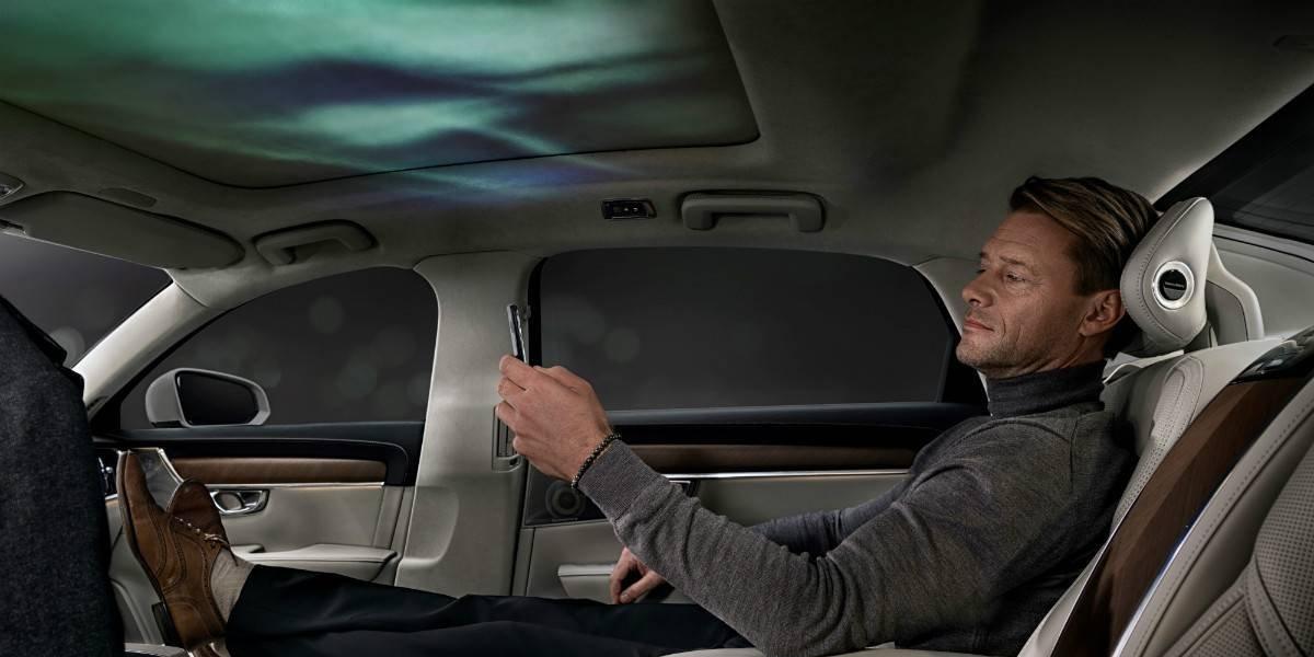 Volvo S90 Ambience Concept, el auto que se conecta a los sentidos
