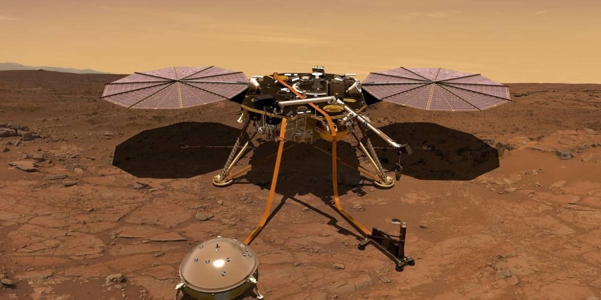 Cada vez más cerca: NASA lanza misión para entender las profundidades de Marte