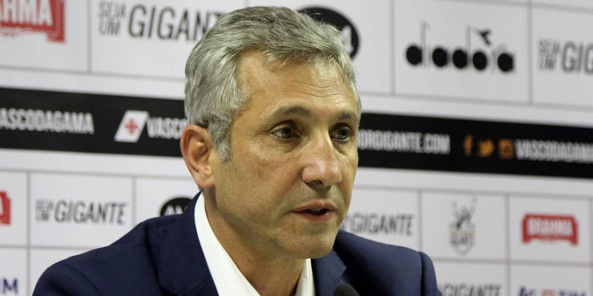 Presidente diz que invasão no treino do Vasco foi manifestação política