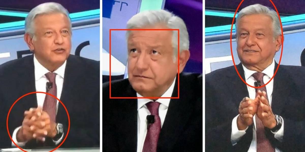 Lo que el lenguaje corporal de López Obrador reveló en Tercer Grado