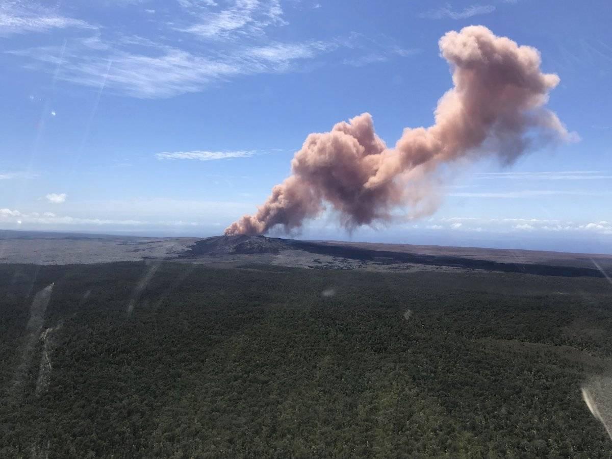 Erupción del volcán Kilauea Foto: AP