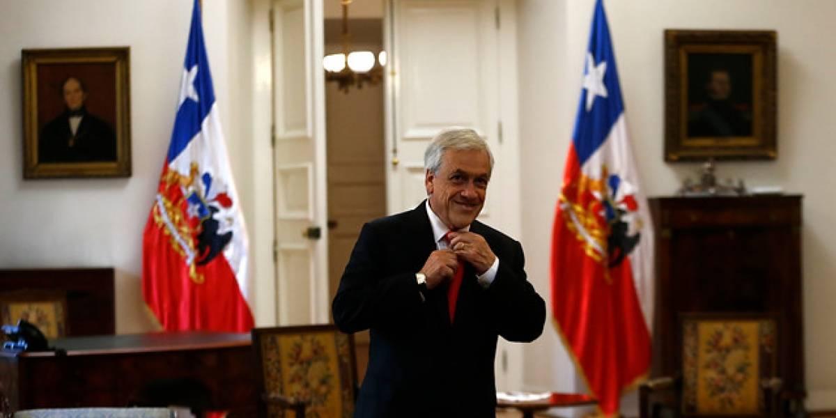 Adimark: aprobación de Piñera sube cinco puntos y alcanza el 54%