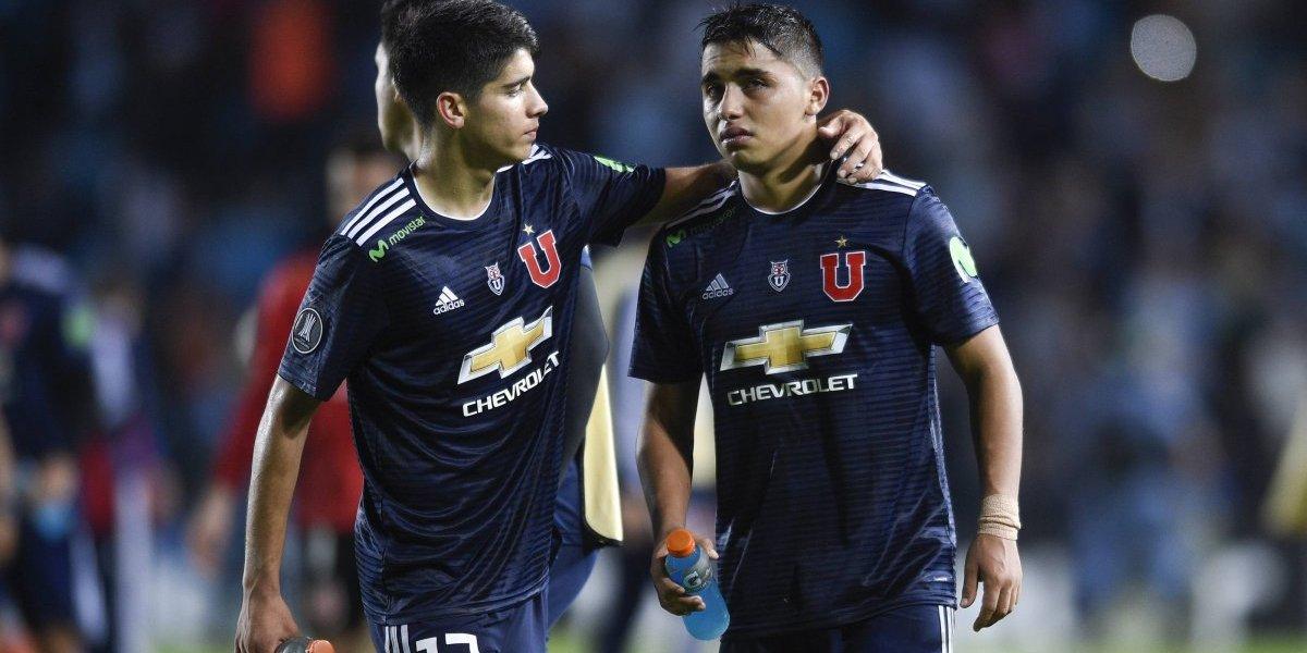 """""""El llanto del pibe"""": en Argentina graficaron la derrota de la U ante Racing con la tristeza de Nicolás Guerra"""