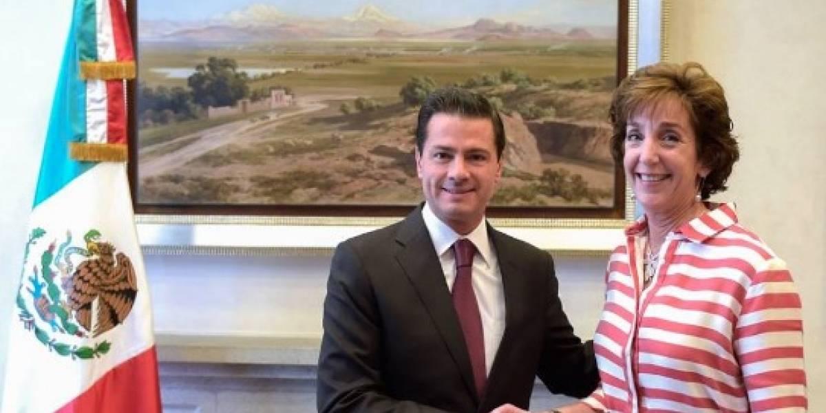 Peña Nieto reconoce a Jacobson al frente de la embajada de EU