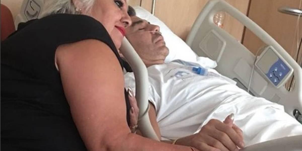 Adrián Uribe regresa al quirófano tras empeorar su estado de salud