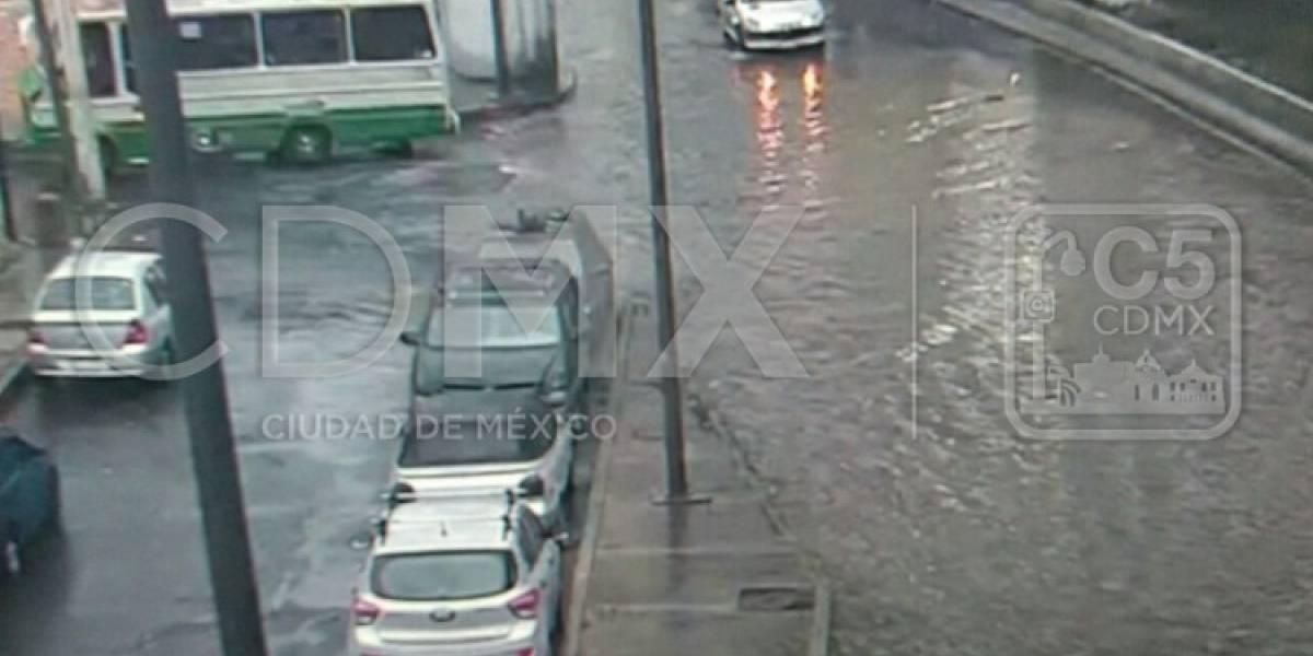 Inundaciones y árboles caídos provocan caos en la CDMX ¡Evita estas zonas!