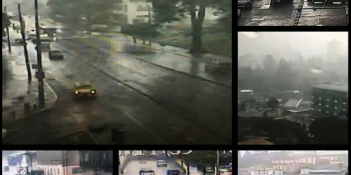 Se registran lluvias y tormentas eléctricas en varios sectores de Quito