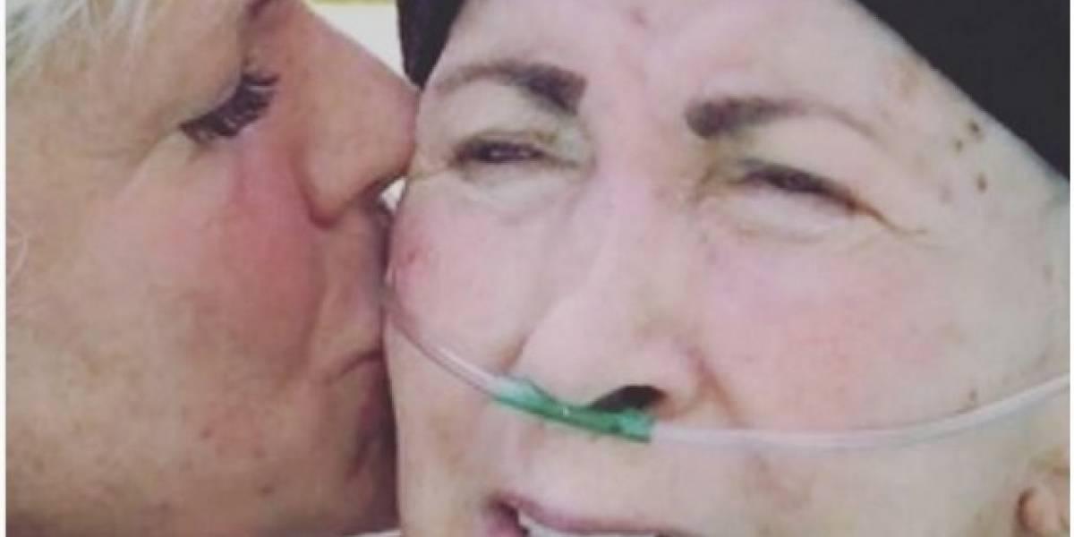 Xuxa faz apelo a fãs e pede orações pela saúde de sua mãe