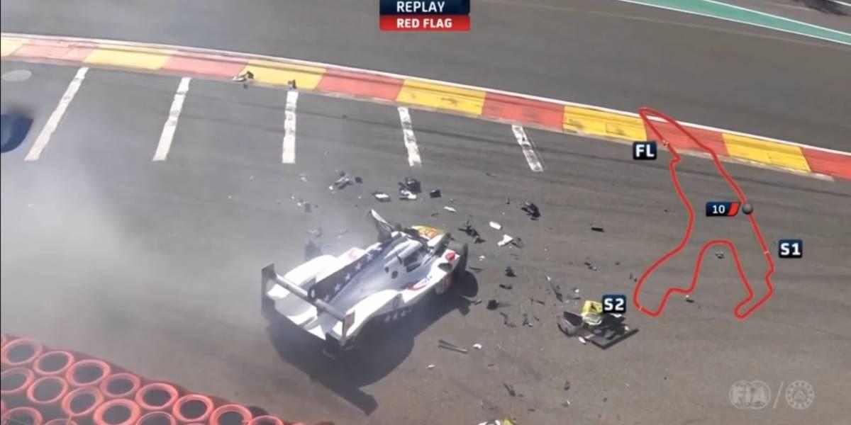 Pietro Fittipaldi sofre grave acidente e fratura perna em Spa-Francorchamps