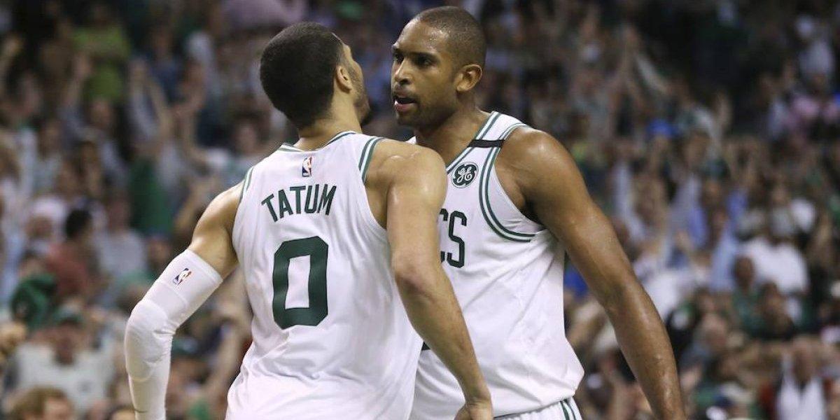 Boston Celtics tomó ventaja 2-0 sobre Filadelfia