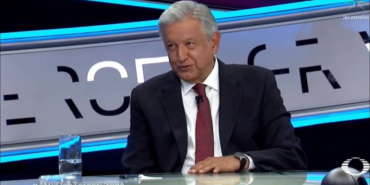 Las frases de Andrés Manuel López Obrador que marcaron su participación en Tercer Grado