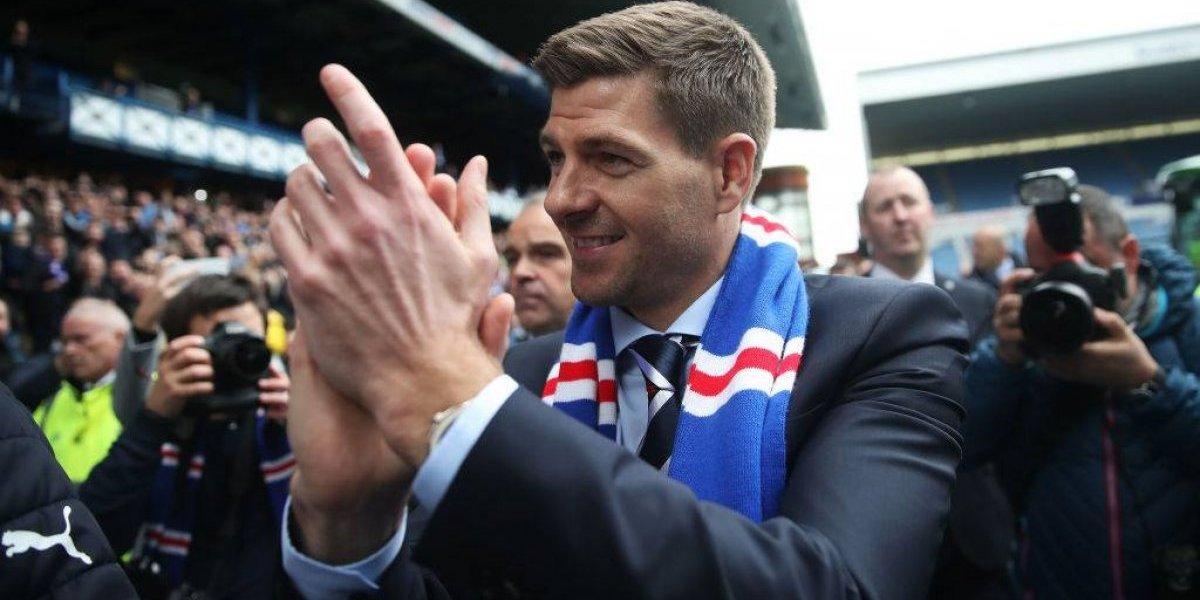 OFICIAL: Steven Gerrard es nuevo entrenador del Rangers de Lalo Herrera