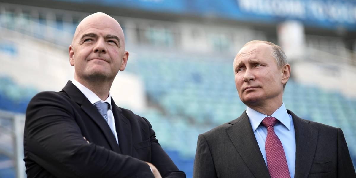 Rússia está 'absolutamente pronta' para Copa do Mundo, diz Infantino