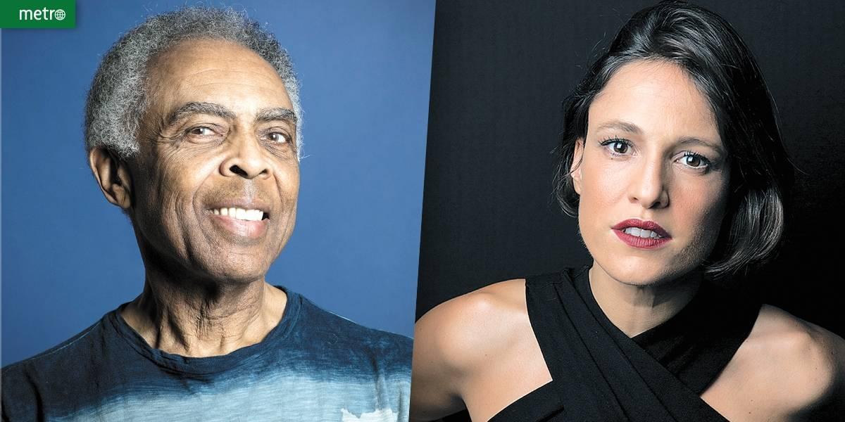 Gilberto Gil e Carminho festejam a língua portuguesa