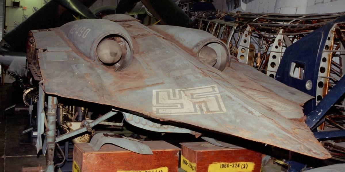 Fotos: Esta nave nazi podría haber aparecido en una película de Star Wars