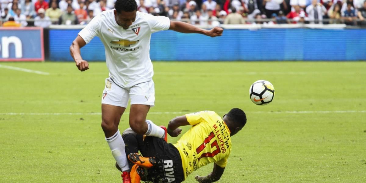 BSCvsLDU: Liga de Quito venció 1-0 a Barcelona SC
