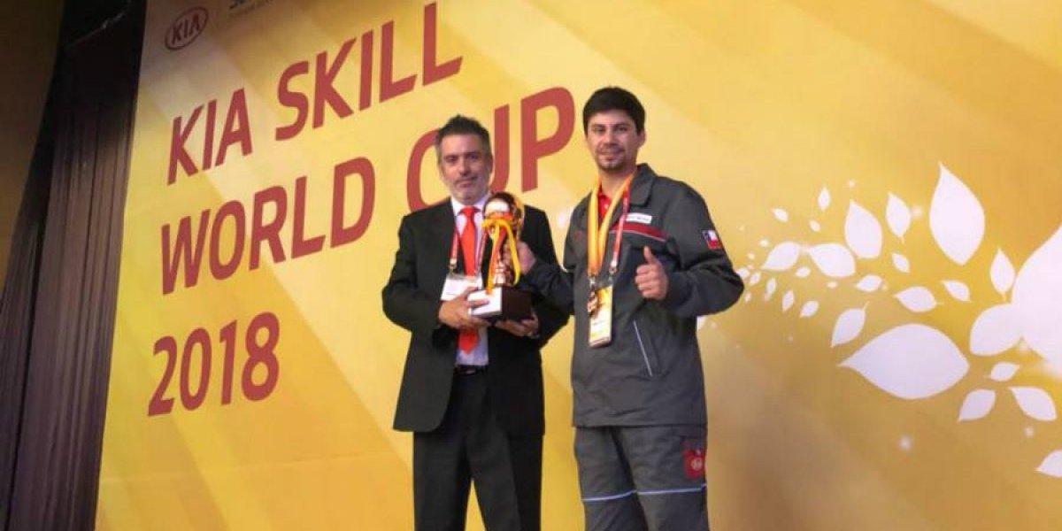 Técnico de Kia Chile es el tercer mejor del planeta