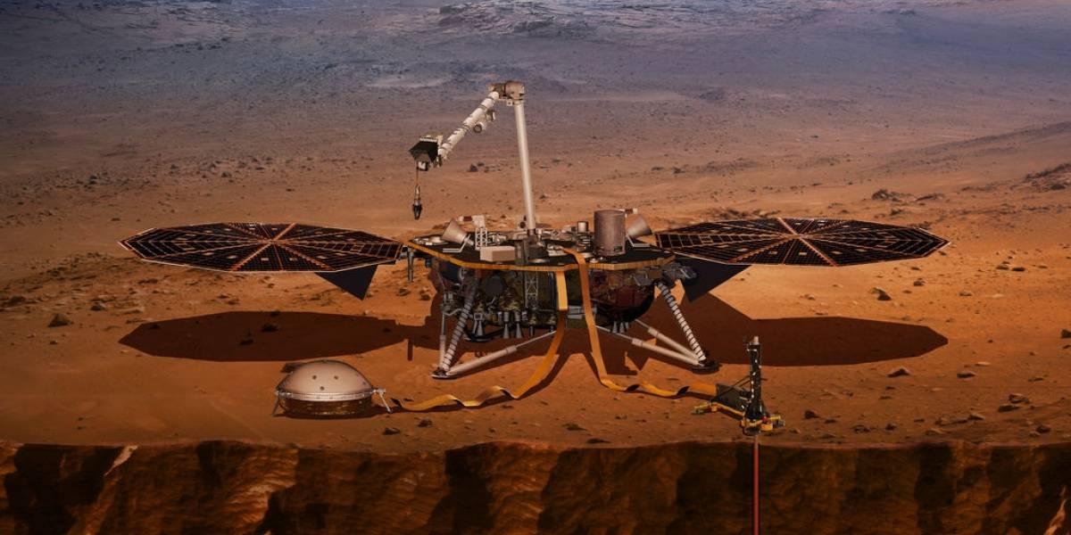 """Con la misión Insight, la NASA planea conocer """"el corazón"""" de Marte"""